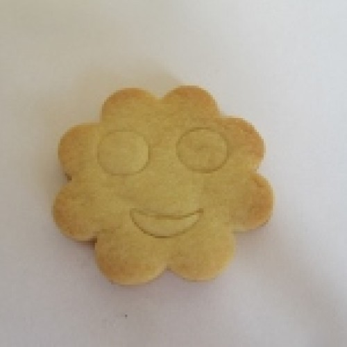 Cookie Cutter Smiley Stamp