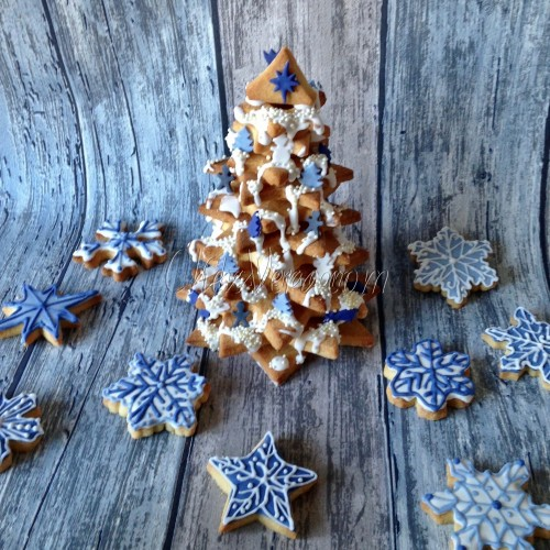 Cookie Cutters 3D Set Tree