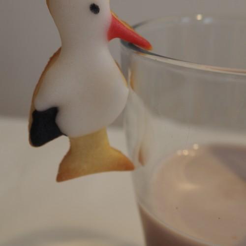 Mug hanging Cookie Cutter – Stork