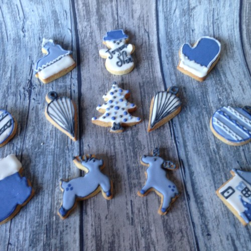 Cookie Cutter Christmas Bauble II