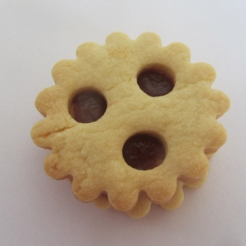 Linzer Cookie Cutter – Circle (crinkled)
