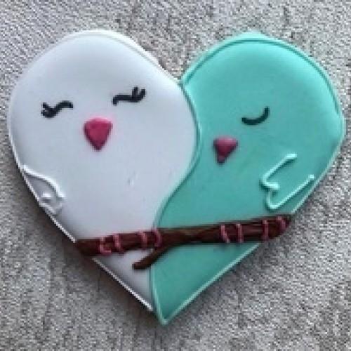 Set d'emporte-pièces - Coeur moyen