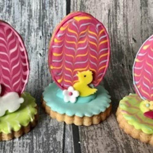Cookie Cutters Set Eggs (3 pcs)