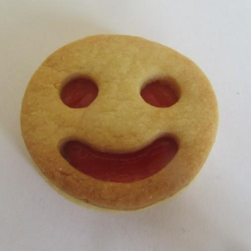 Linzer Ausstechform – Smiley (glücklich)