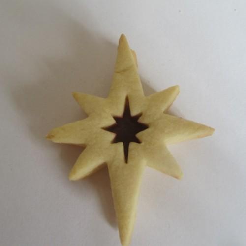 Linzer Cookie Cutters Set – Star (spiky)