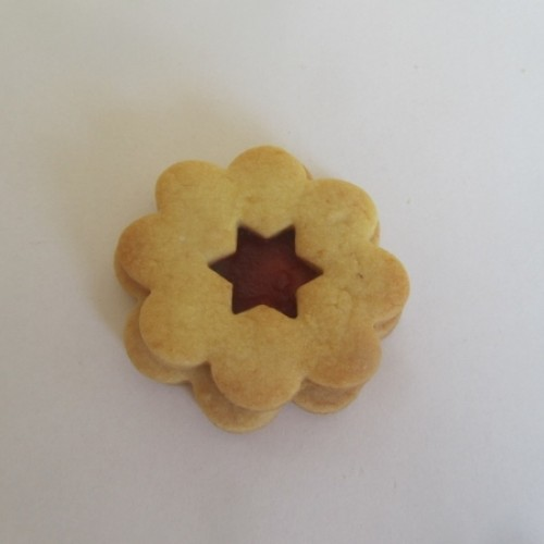 Linzer Cookie Cutters Set – Flower with Star (large)