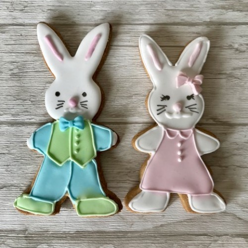 Cookie Cutter Bunny (standing) large II