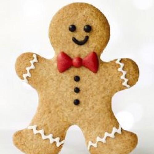 Cookie Cutter Gingerbread Man – medium
