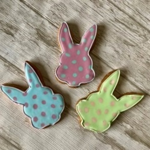 Cookie Cutter Bunny Head
