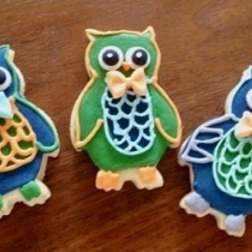 Cookie Cutter Owl V