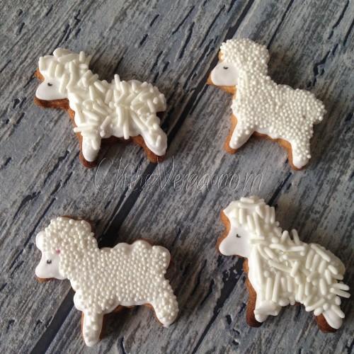 Cookie Cutter Sheep
