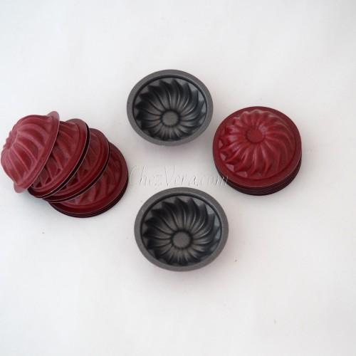 20 Stück Mini-Gugelhupfformen