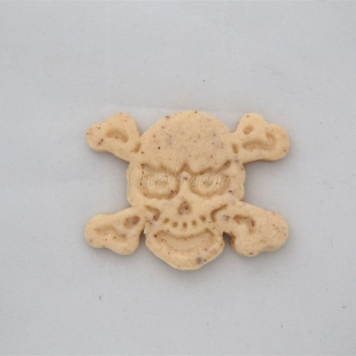 Cookie Cutter with Ejector - Skull
