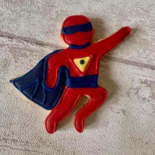 Ausstechform Superheld