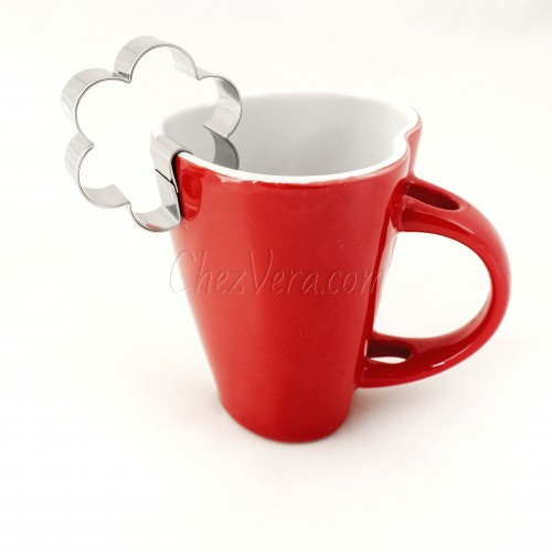 Mug hanging Cookie Cutter – Flower II