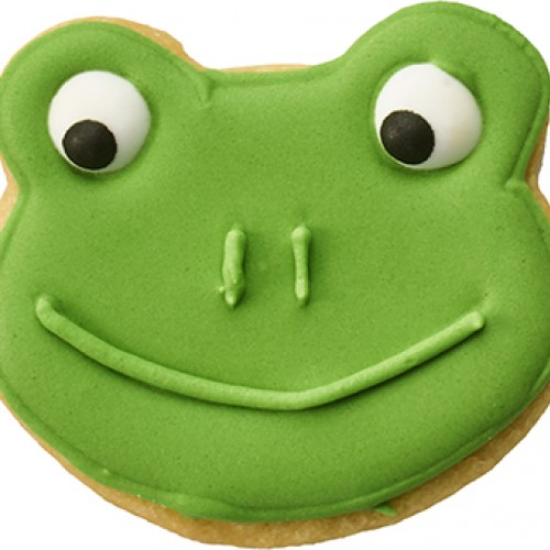 Cookie Cutter Frog Face