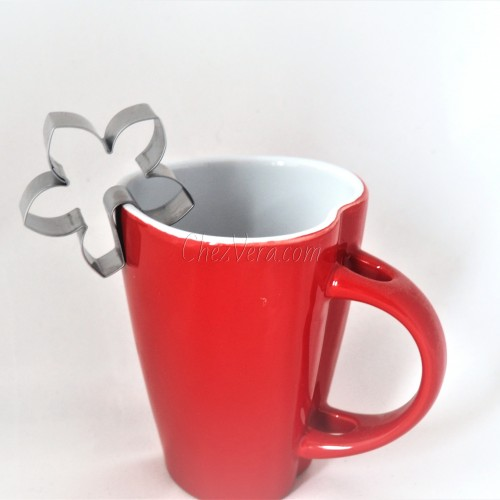 Mug hanging Cookie Cutter – Flower Lily