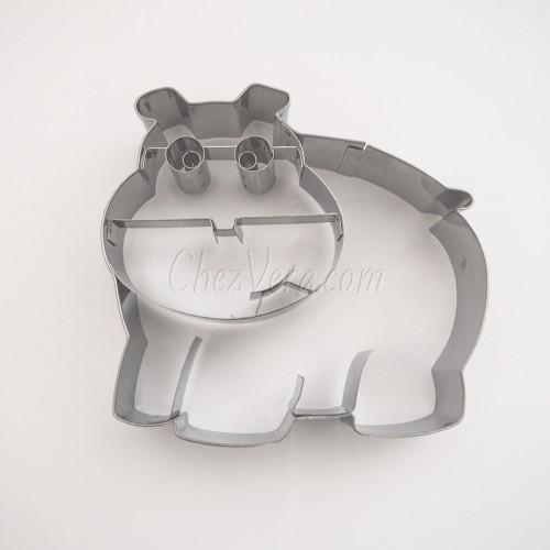 Emporte-pièce Hippopotame I