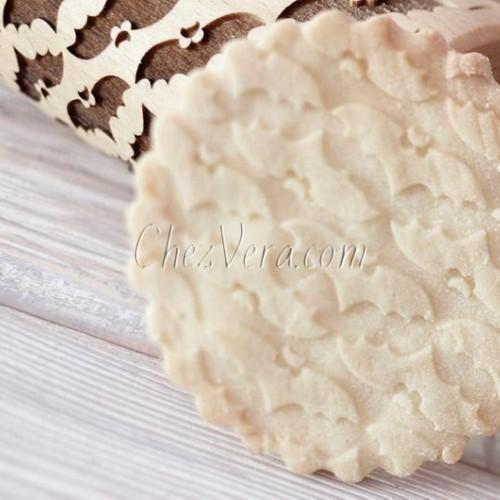 ROULEAU à pâtisserie GRAVÉ MINI - Chauves-souris