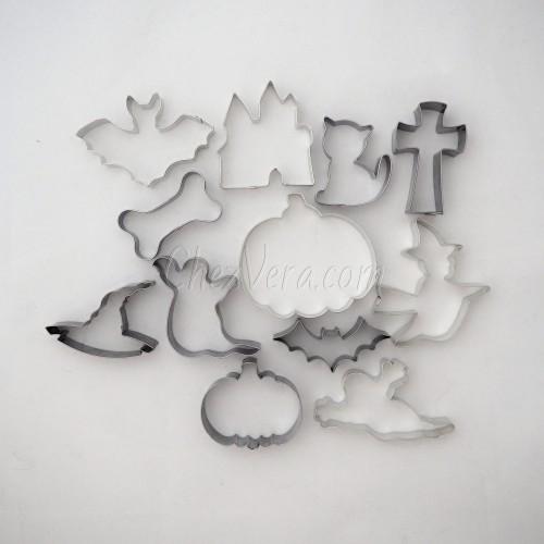 Cookie Cutters Set Halloween II – 12 pieces