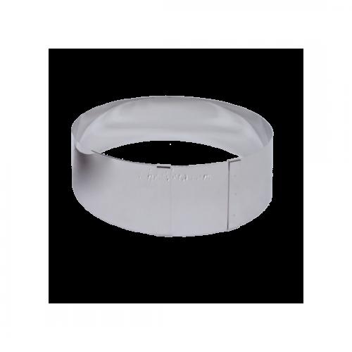 Cercle à pâtisserie 18-30 cm H 9 cm